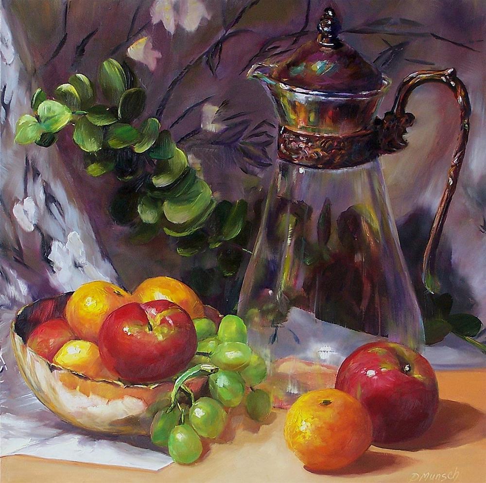"""""""Fragile Glass"""" original fine art by Donna Munsch"""