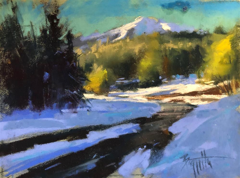 """Morning Stop"" original fine art by Marla Baggetta"