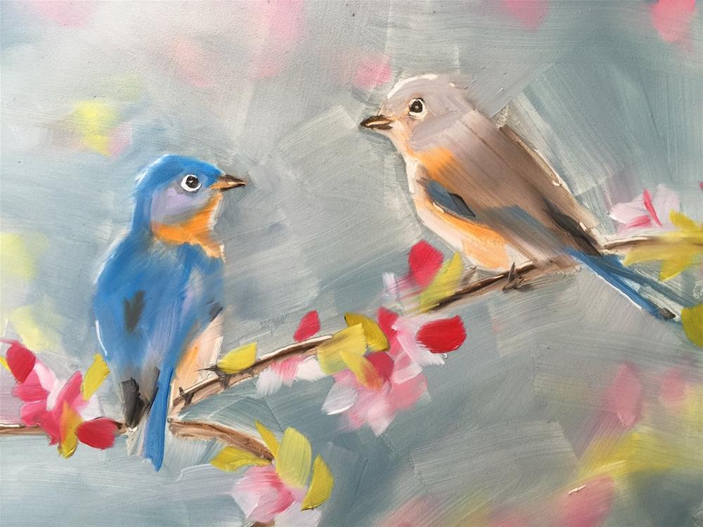 """""""269 Day by Day"""" original fine art by Jenny Doh"""