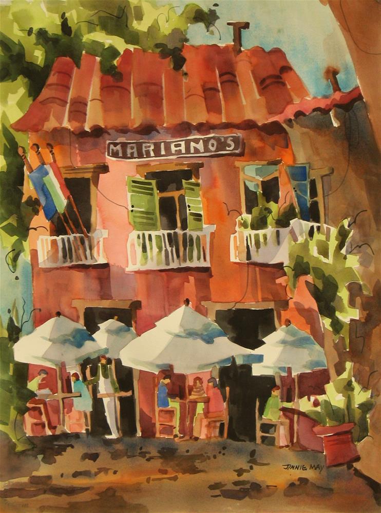 """Mariano's II"" original fine art by Jinnie May"
