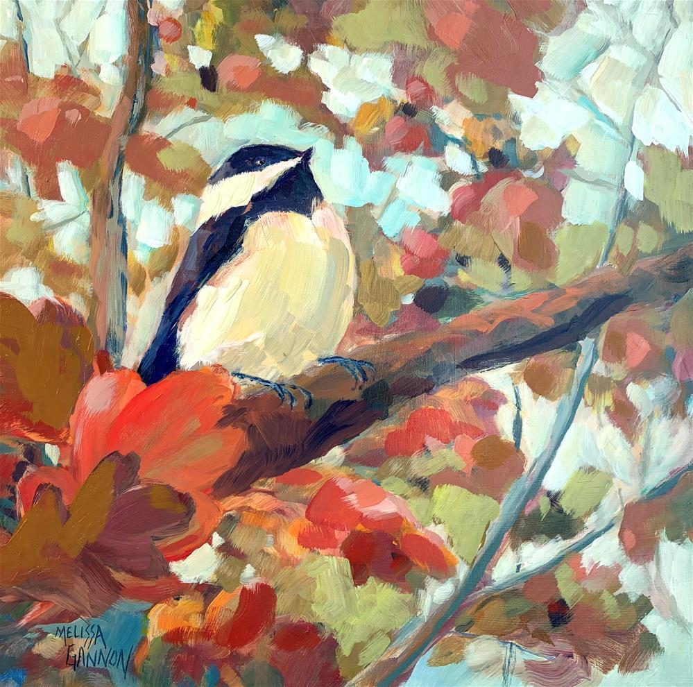 """Grand View"" original fine art by Melissa Gannon"