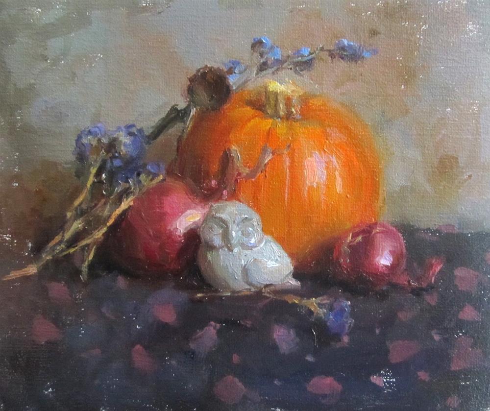 """fall season"" original fine art by Taisia Kuklina"