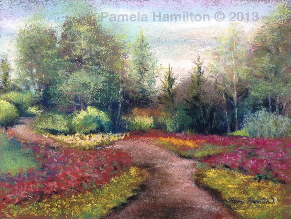 """Ball Gardens"" original fine art by Pamela Hamilton"