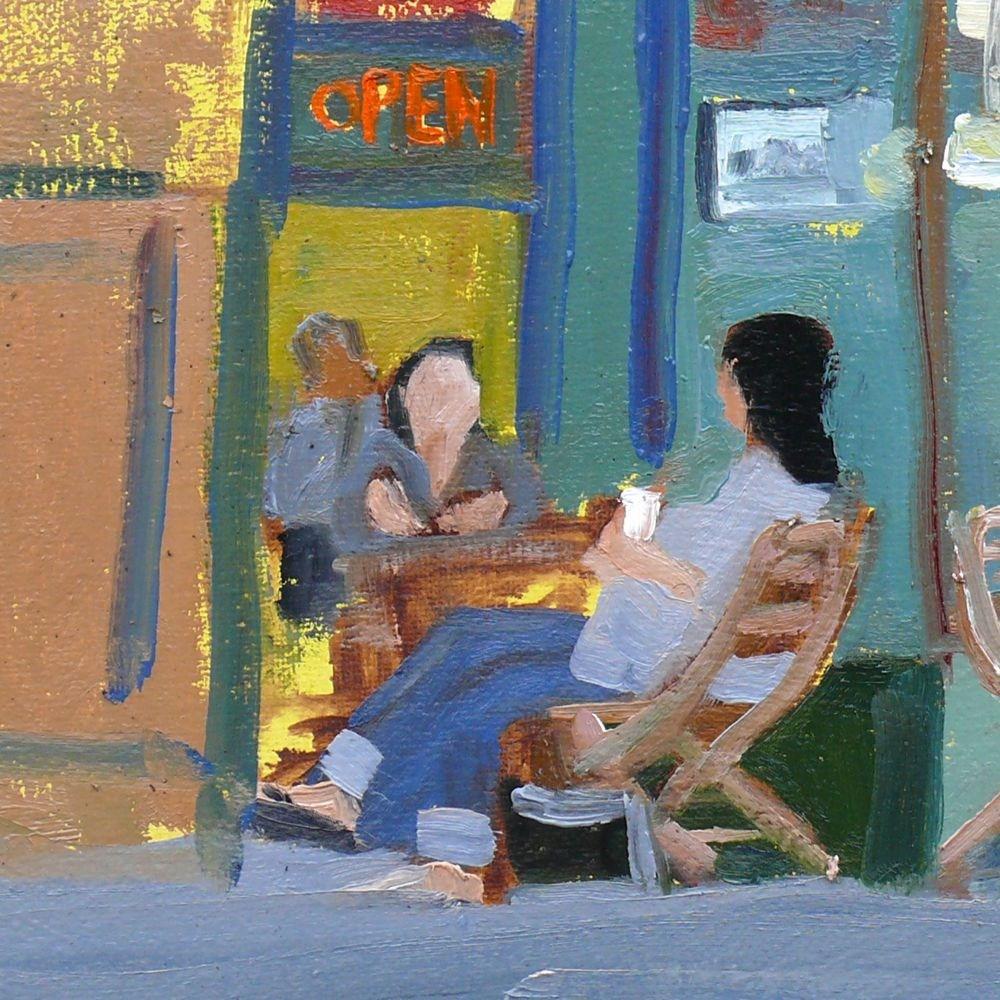 """Fernwood Scene"" original fine art by Darlene Young"