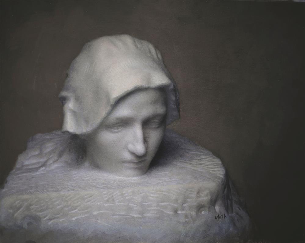 """""""sculpture"""" original fine art by Yuehua He"""