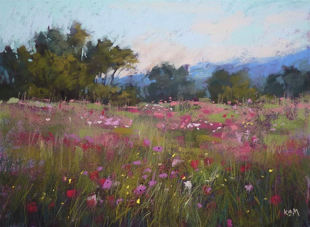 """""""Time for Another Box of Terry Ludwig Pastels!"""" original fine art by Karen Margulis"""