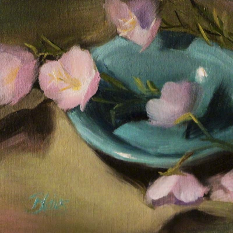"""Bowl of Buttercups"" original fine art by Pamela Blaies"