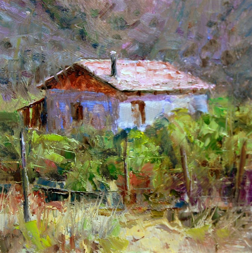 """""""Abandoned"""" original fine art by Julie Ford Oliver"""
