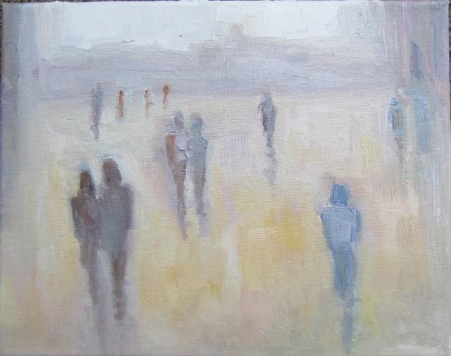 """""""Almost home"""" original fine art by Astrid Buchhammer"""
