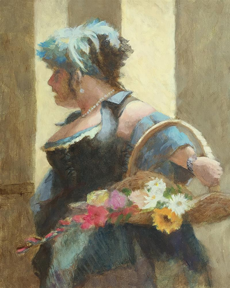 """Faire Reenactor"" original fine art by Robyn Jorde"