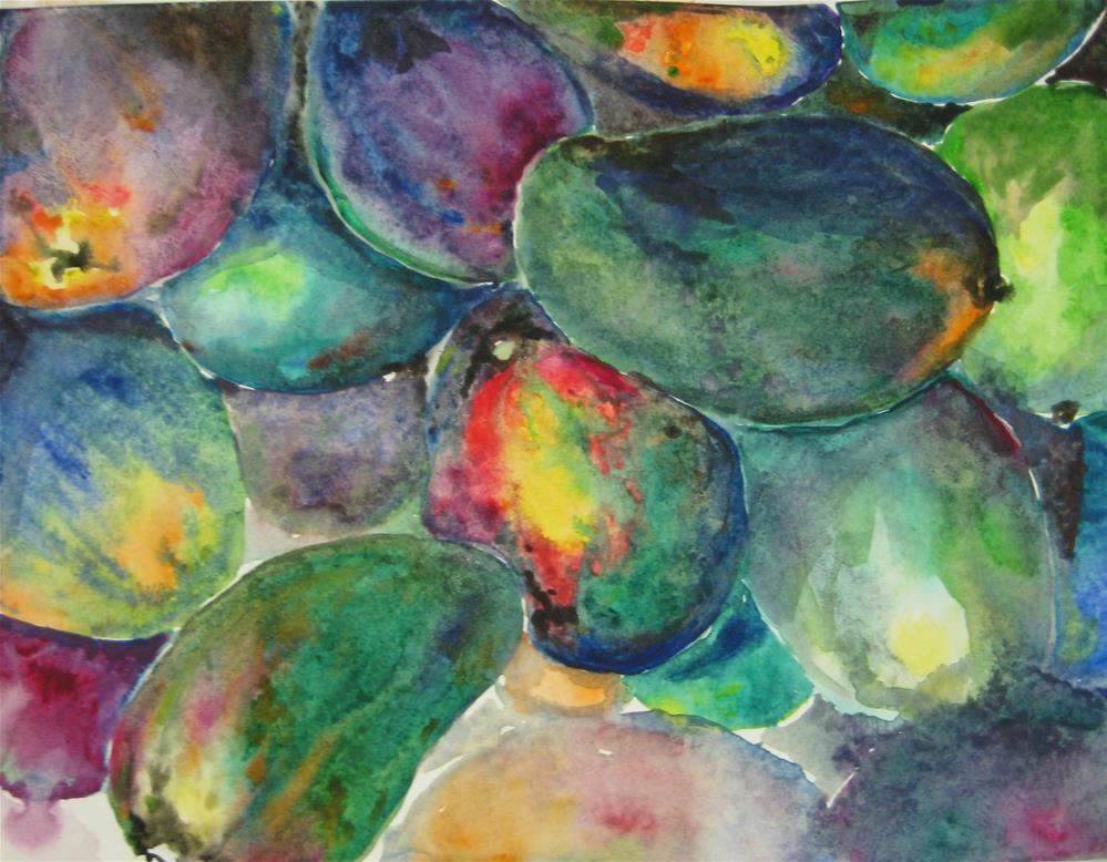 """""""fruit-2"""" original fine art by Wenqing Xu"""