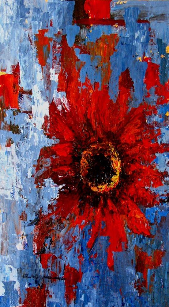 """""""Sunflower #8"""" original fine art by Anna Vreman"""
