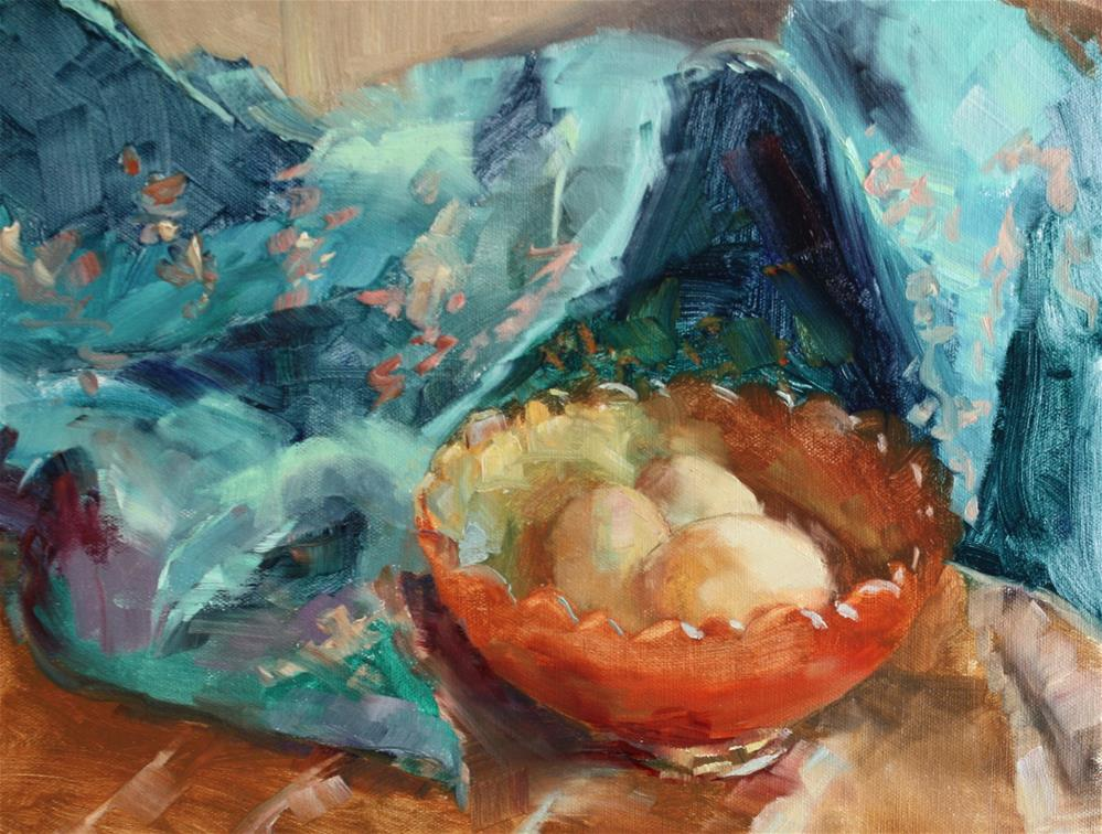 """""""Celebrate Six"""" original fine art by Pamela Sweet"""