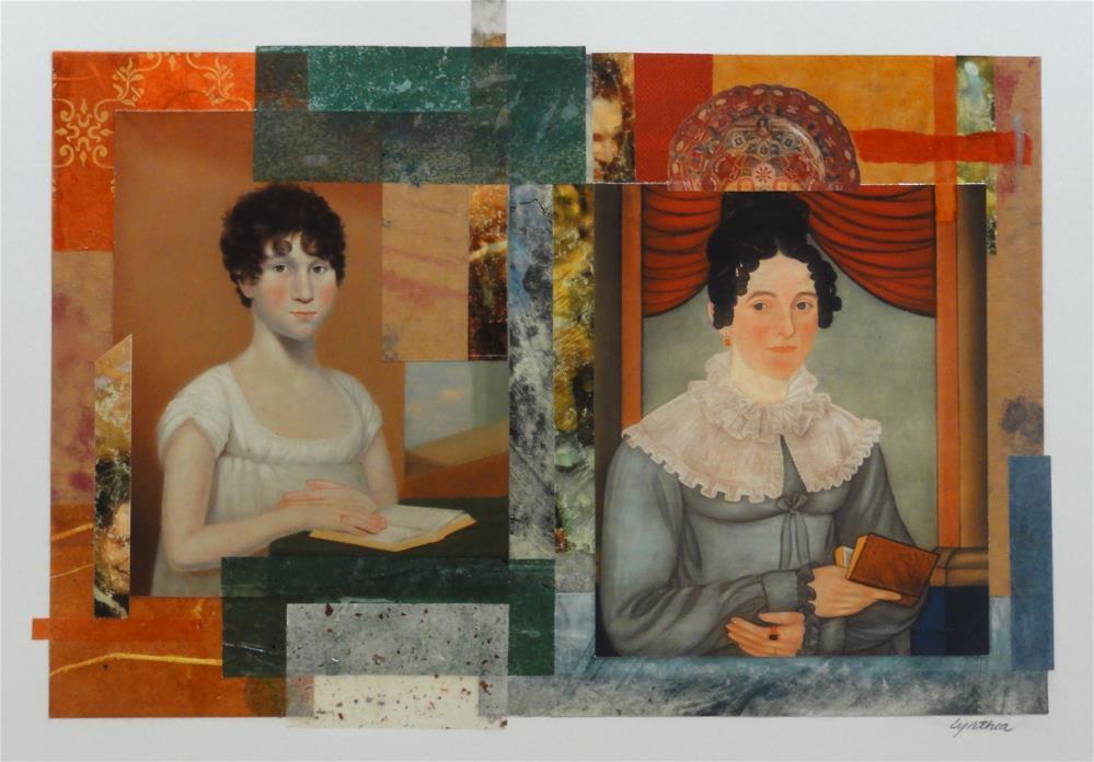 """Women Who Read 2"" original fine art by Cynthia Frigon"