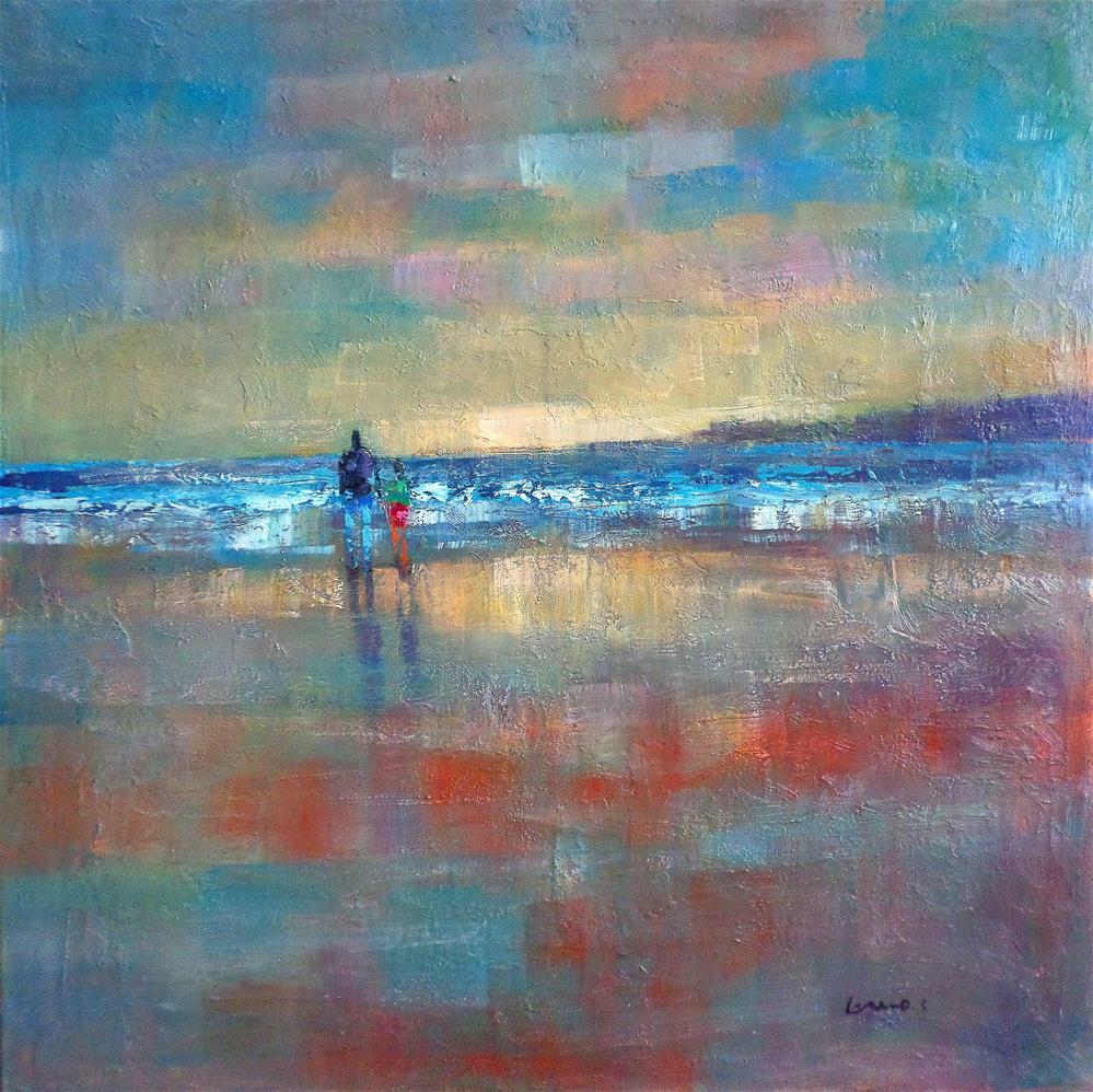 """the beach"" original fine art by salvatore greco"