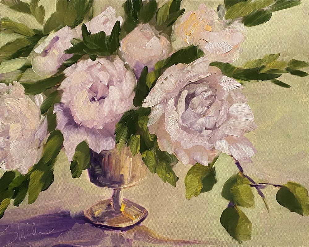"""""""Surprise Guest"""" original fine art by Sheila Huyett"""