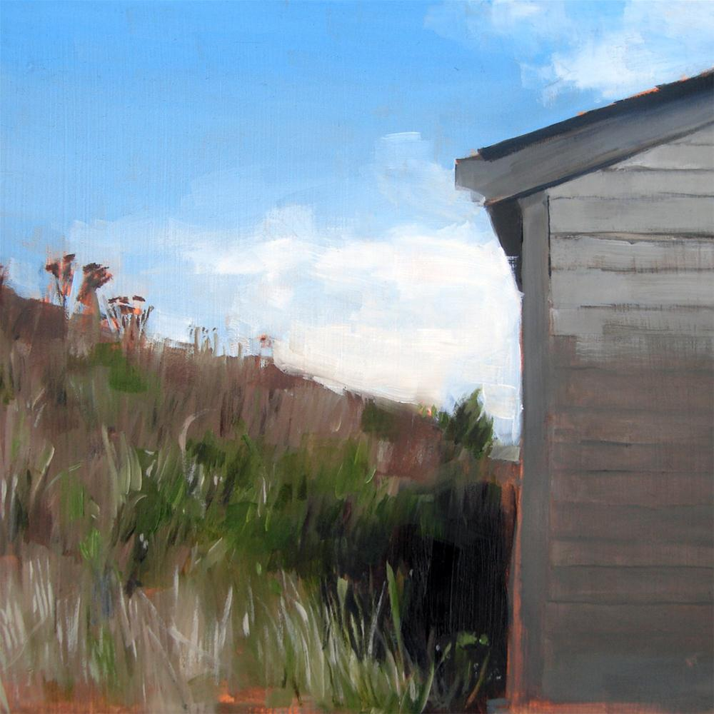 """Aquinna Shop, Martha's Vineyard, MA (no.45)"" original fine art by Michael William"