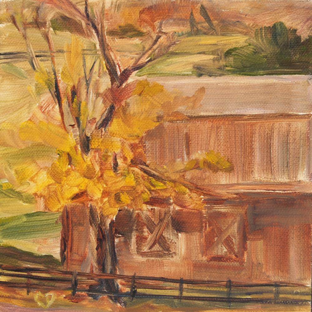 """""""Gone With the Wind"""" original fine art by Carol DeMumbrum"""