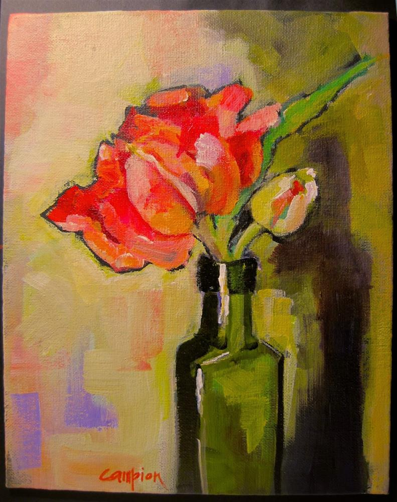 """""""332 Another Try"""" original fine art by Diane Campion"""