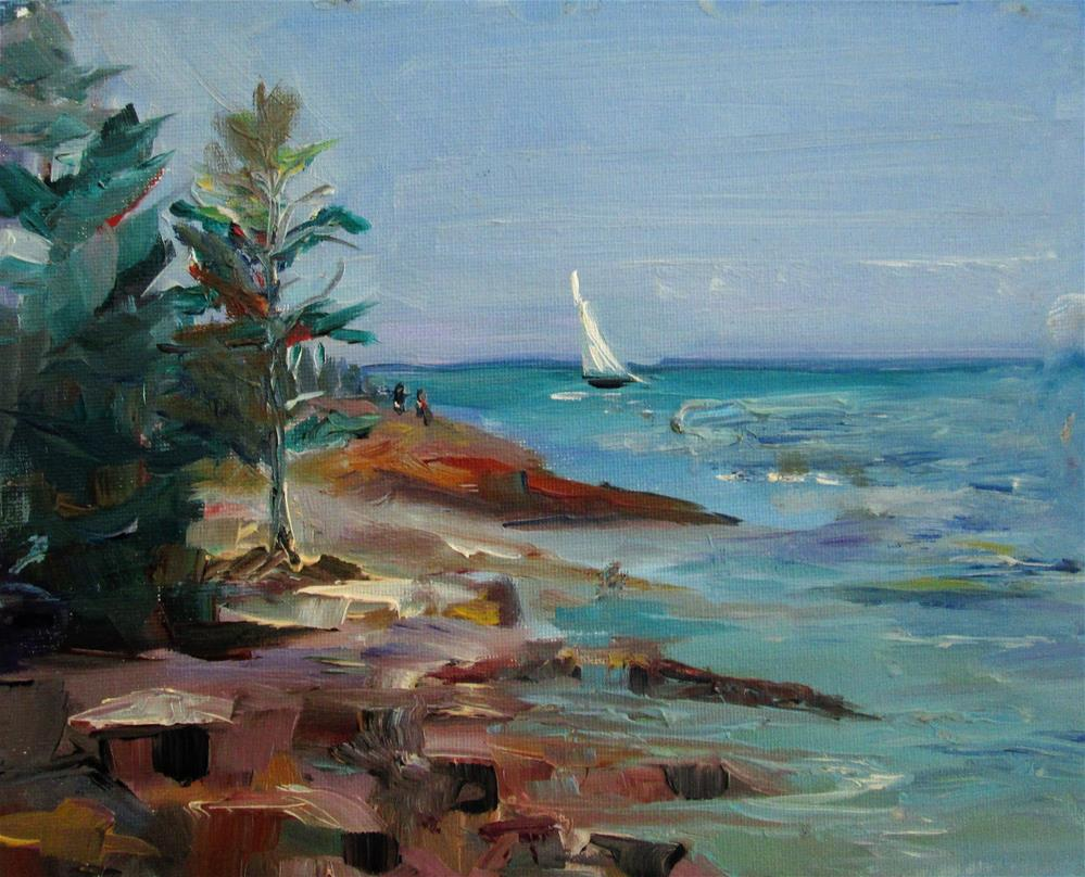"""Acadia National Park"" original fine art by Delilah Smith"