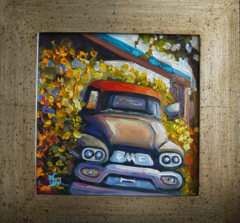"""""""OUT TO PASTURE"""" original fine art by Dee Sanchez"""