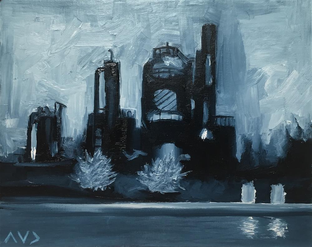"""""""#14"""" original fine art by Van DeGoede"""