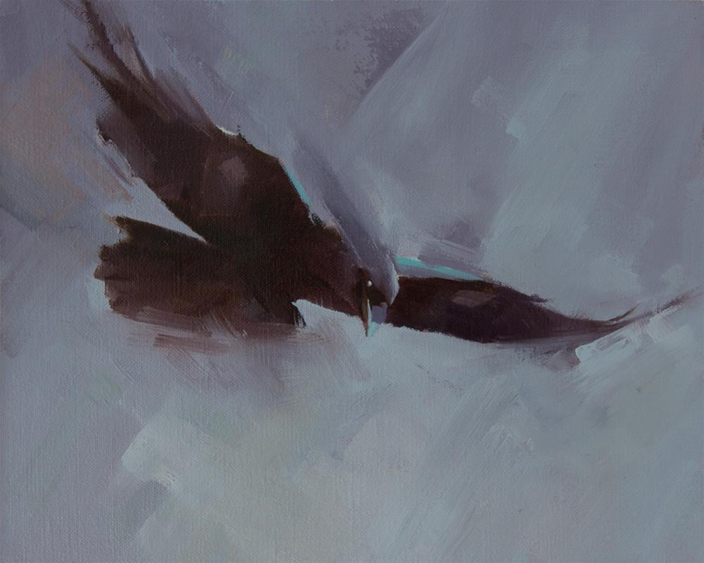 """Raven"" original fine art by Thorgrimur Andri Einarsson"