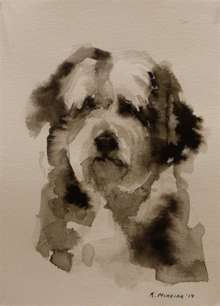 """adopt42"" original fine art by Katya Minkina"