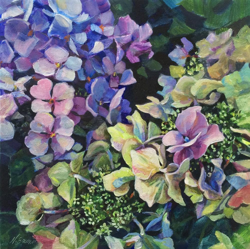 """""""Summer Bounty"""" original fine art by Nicoletta Baumeister"""