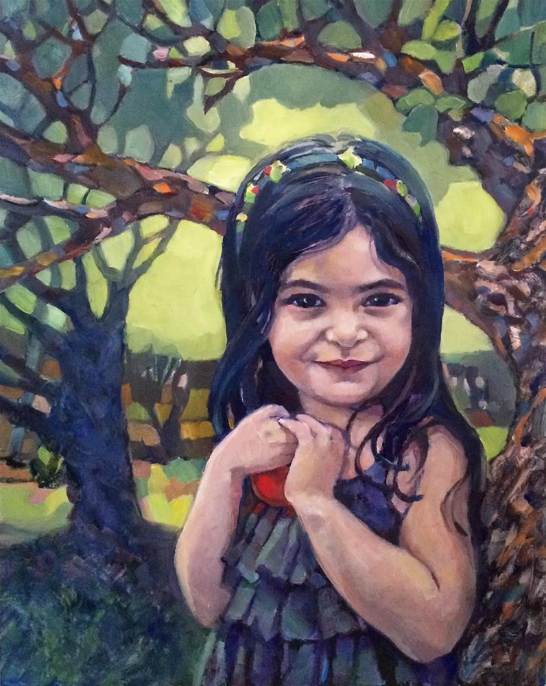 """Faces:  New Beginnings"" original fine art by Nicoletta Baumeister"