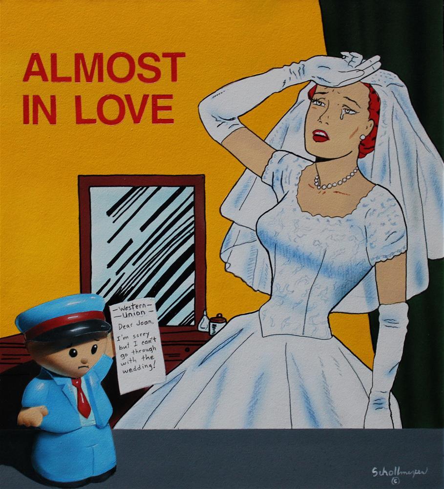 """Almost in Love"" original fine art by Fred Schollmeyer"