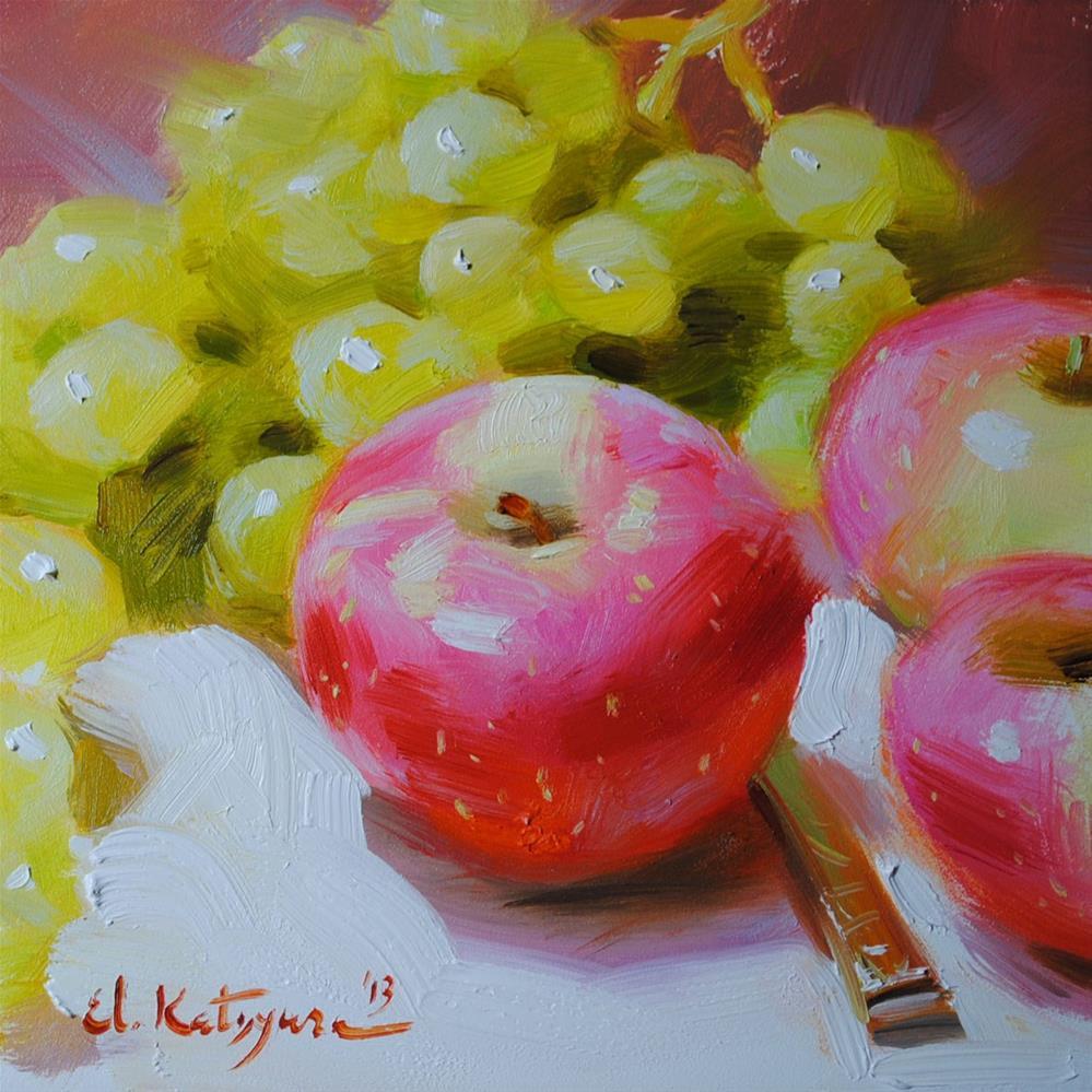 """Simply Irresistible"" original fine art by Elena Katsyura"