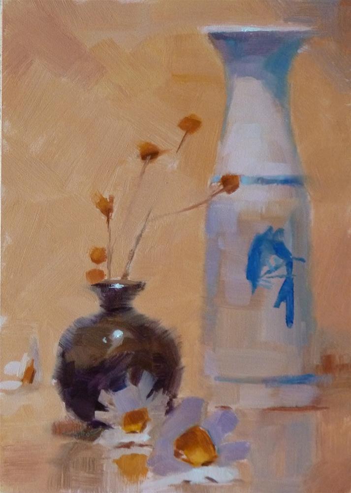 """A Tom Jones Decanter"" original fine art by Ron Ferkol"