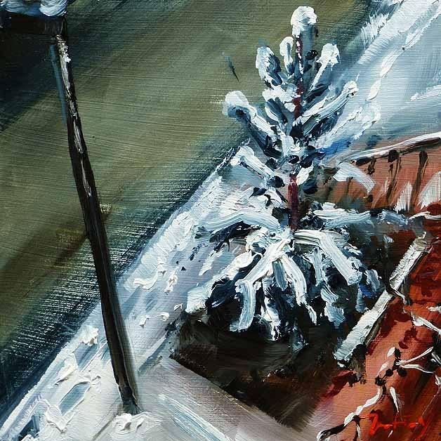 """View from the window"" original fine art by Jurij Frey"