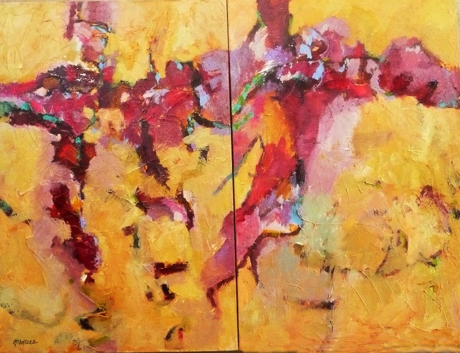 """Calypso Dreams 11047"" original fine art by Nancy Standlee"