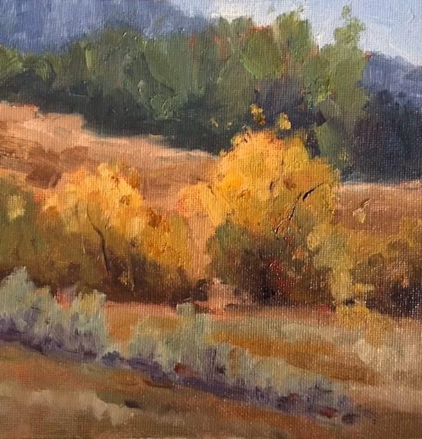 """""""Golden Autumn"""" original fine art by Victoria  Biedron"""