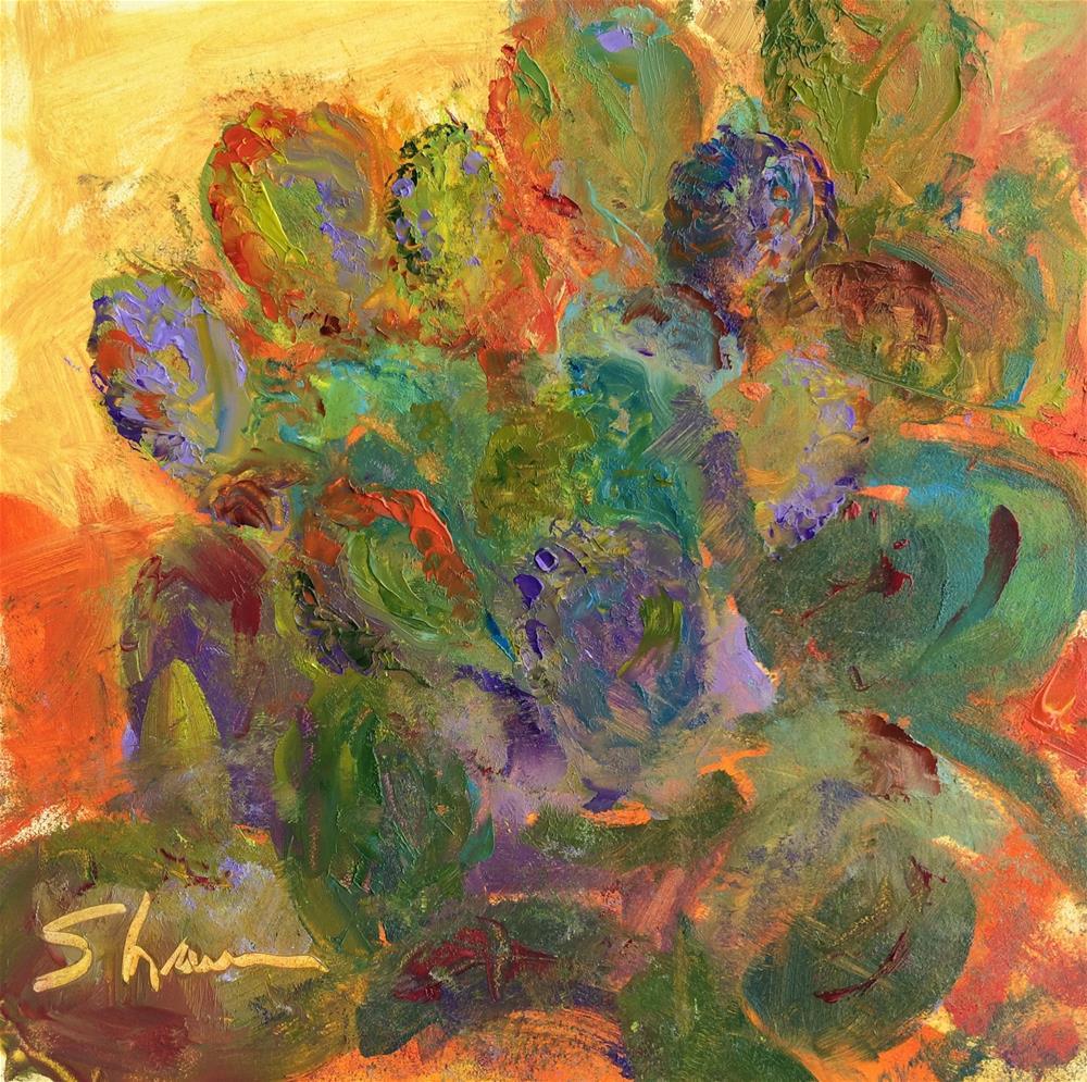 """""""Prickly Pear"""" original fine art by Shawn Deitch"""