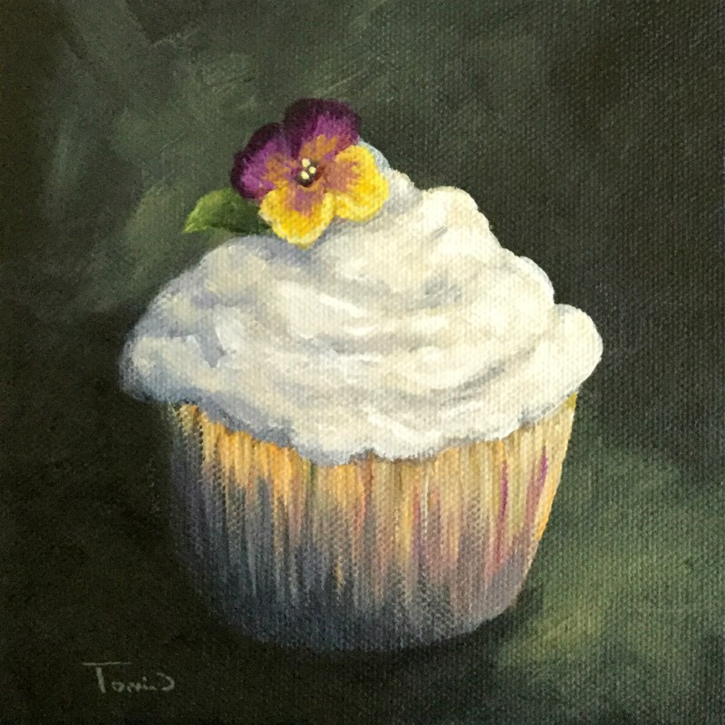 """Cupcake 011"" original fine art by Torrie Smiley"