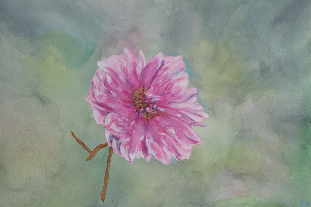 """Peony"" original fine art by Laura Denning"