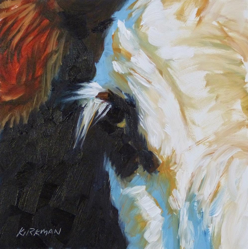"""Whiteface"" original fine art by Rita Kirkman"