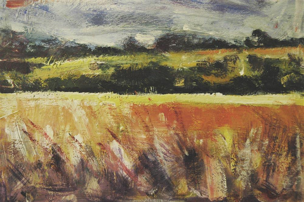 """""""The Downs"""" original fine art by Andre Pallat"""