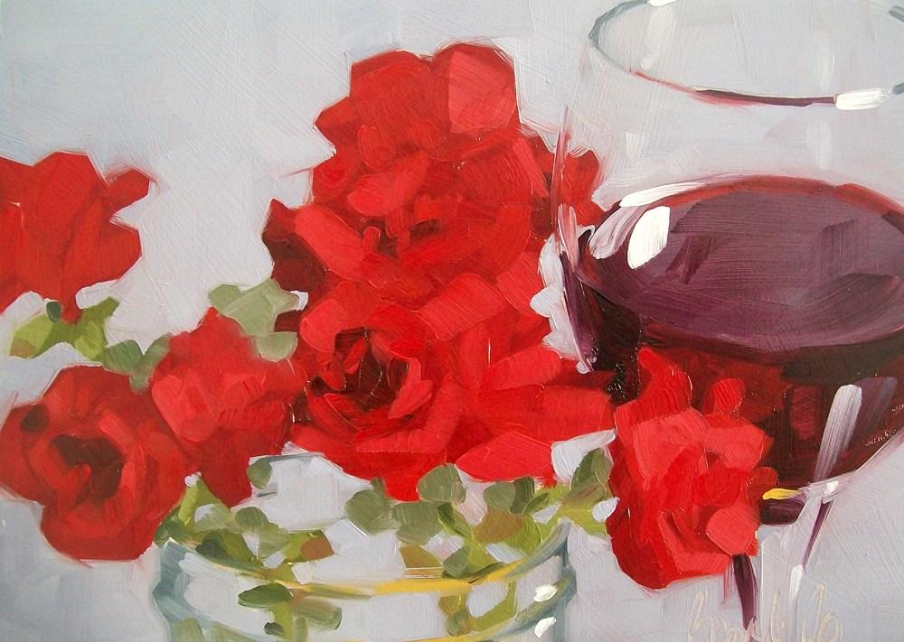 """Garden party"" original fine art by Brandi Bowman"