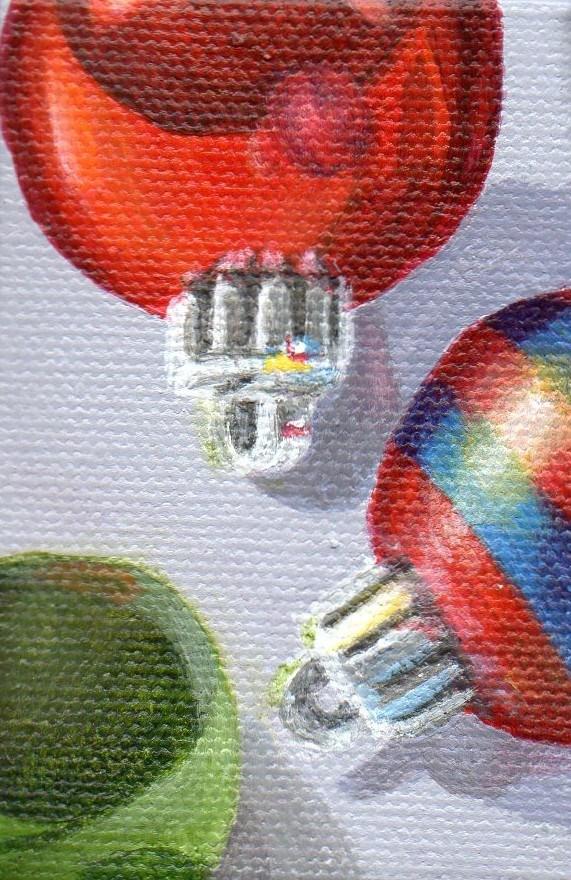 """Ornament #18"" original fine art by Debbie Shirley"
