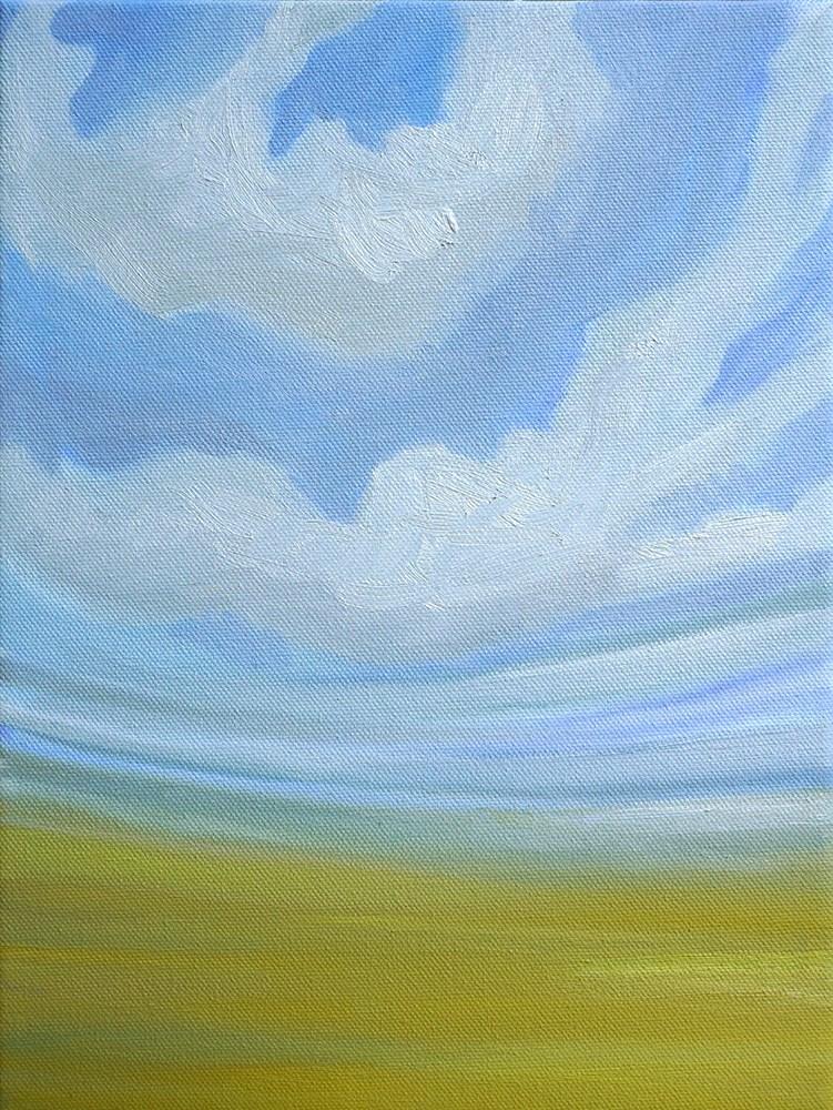 """Fields of Green"" original fine art by Lauren Dusing"