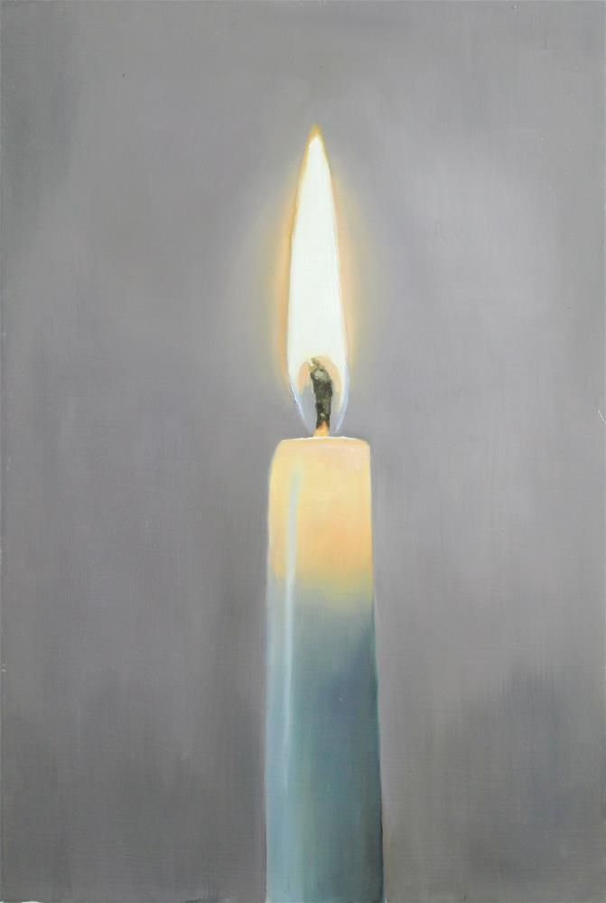 """Light a Candle"" original fine art by James Coates"