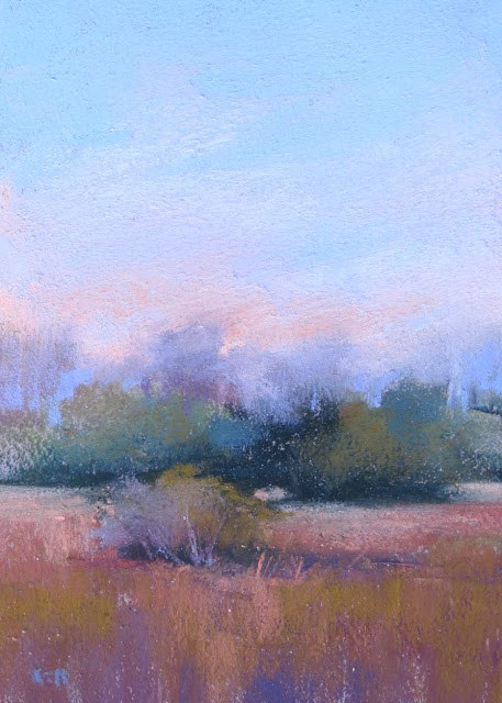 """Portable Plein Air ... The Easy Way to Get Outside to Paint"" original fine art by Karen Margulis"