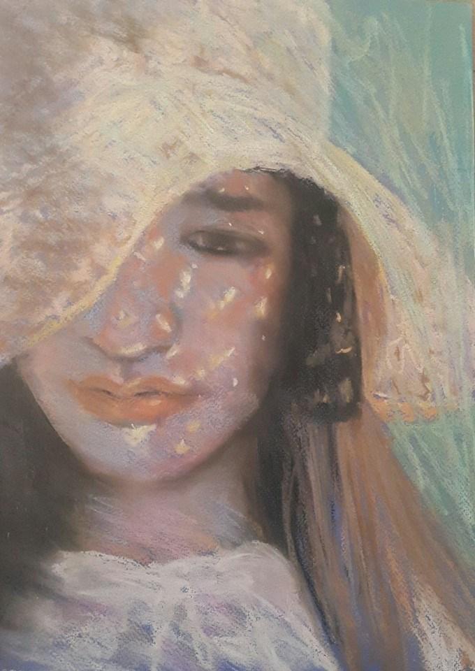 """Summers day"" original fine art by Rentia Coetzee"