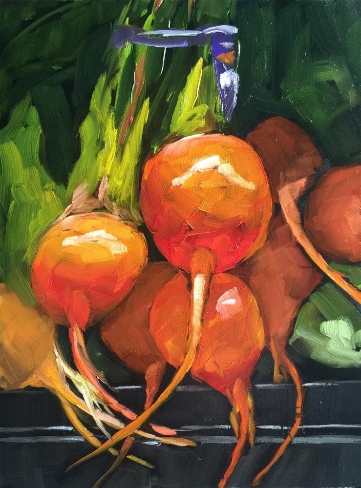 """Beets (2)"" original fine art by Hallie Kohn"