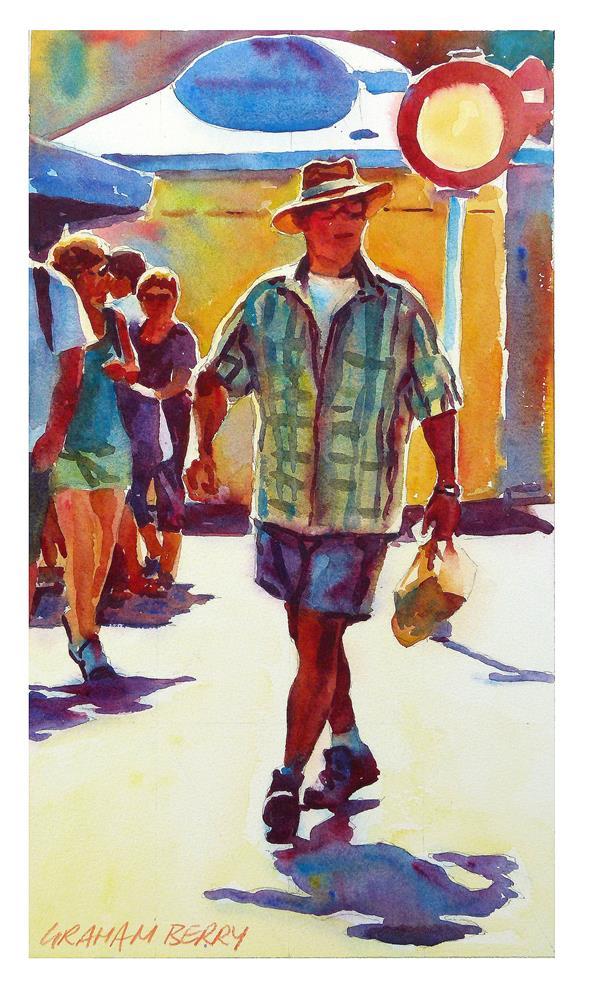 """Figure 3"" original fine art by Graham Berry"