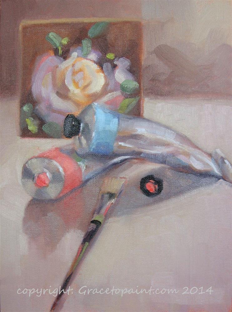 """It's a Wrap"" original fine art by Maresa Lilley"